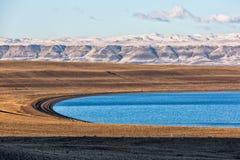 Paisaje de la Patagonia en el EL Calafate, la Argentina Fotografía de archivo