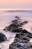 Paisaje de la playa fotografía de archivo