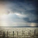 Paisaje de la playa Imagen de archivo libre de regalías