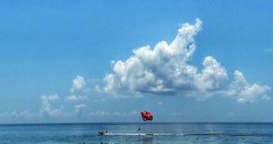 Paisaje de la playa Fotos de archivo libres de regalías