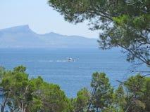 Paisaje de la playa de Mallorca Imagen de archivo libre de regalías