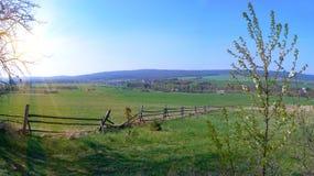 Paisaje de la primavera imagen de archivo
