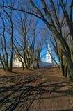 Paisaje de la primavera en Veliky Novgorod Fotos de archivo libres de regalías