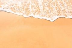 Paisaje de la relajación de la playa del mar Imágenes de archivo libres de regalías