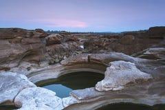 Paisaje de la roca Fotografía de archivo libre de regalías