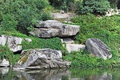 Paisaje de la roca Imagen de archivo libre de regalías