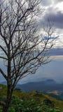 Paisaje de la tarde de las colinas en Khao Kor Fotografía de archivo