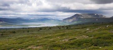 Paisaje de la tundra Imagenes de archivo