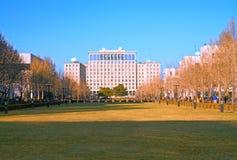 Paisaje de la universidad de Tsinghua Imagen de archivo libre de regalías