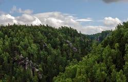 Paisaje de la visión Foto de archivo