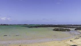 Paisaje de Lanzarote Fotografía de archivo libre de regalías