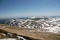 Paisaje de las altas montañas en verano Imagen de archivo libre de regalías