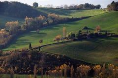 Paisaje de las colinas Fotos de archivo