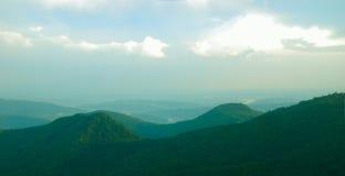 Paisaje de las colinas Fotografía de archivo