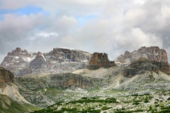 Paisaje de las dolomías - Italia Fotos de archivo libres de regalías