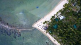 Paisaje de las fotos de las islas filipinas imagen de archivo