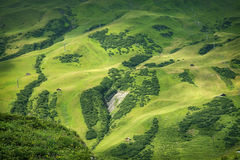 Paisaje de las montañas Fotos de archivo