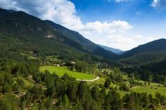 Paisaje de las montañas fotos de archivo libres de regalías