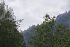 Paisaje 2 de las montañas Imágenes de archivo libres de regalías