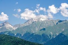 Paisaje de las montañas Foto de archivo libre de regalías