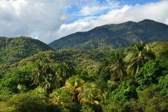 Paisaje de las montañas de Cuba Sierra Maestra imagen de archivo libre de regalías