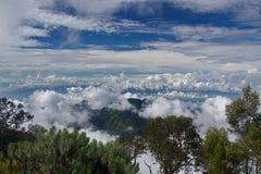 Paisaje de las montañas de Beautifal Fotografía de archivo libre de regalías