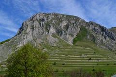 Paisaje de las montañas de la naturaleza Fotos de archivo libres de regalías