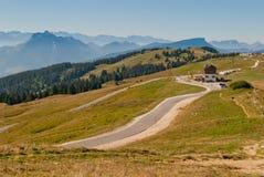 Paisaje de las montañas de las montan@as Foto de archivo