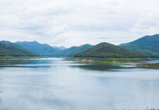 Paisaje de las montañas en Chiangmai Tailandia Foto de archivo