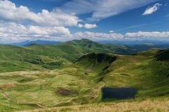 Paisaje de las montañas Montañas cárpatas Verano Imagen de archivo