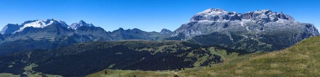 Paisaje de las monta?as de las dolom?as Imagen de archivo libre de regalías