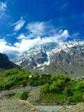 Paisaje de Leh Ladakh Foto de archivo
