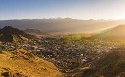 Paisaje de Leh Lakdh Imagen de archivo
