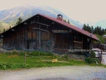 Paisaje de Les Houches Fotos de archivo