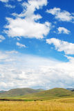 Paisaje de Lesotho Fotografía de archivo libre de regalías