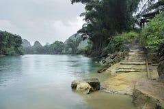 Paisaje de Li River Fotografía de archivo