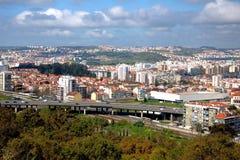 Paisaje de Lisboa Fotografía de archivo libre de regalías