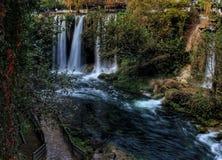 Paisaje de Londres del pavo de ÅŸelale Antalya de la cascada imágenes de archivo libres de regalías