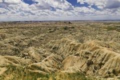 Paisaje de los Badlands Foto de archivo libre de regalías
