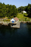 Paisaje de Lysefjord Fotos de archivo