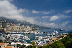 Paisaje de Mónaco Foto de archivo libre de regalías