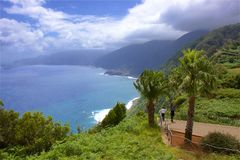 Paisaje de Madeira Imagen de archivo