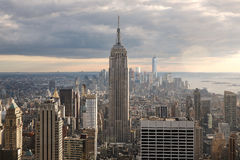 Paisaje de Manhattan Foto de archivo