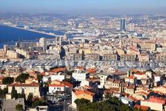 Paisaje de Marsella Imagen de archivo