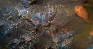 Paisaje de Marte Foto de archivo libre de regalías