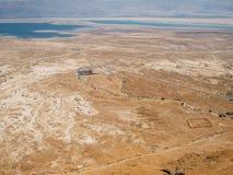 Paisaje de Masada Imagenes de archivo