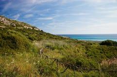 Paisaje de Menorcan Imagen de archivo libre de regalías