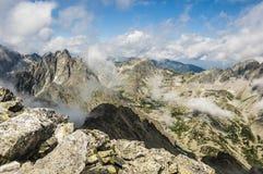 Paisaje de montañas Fotos de archivo libres de regalías