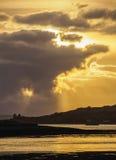 Paisaje de montañas escocesas Imagen de archivo