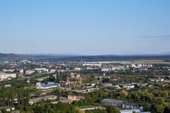 Paisaje de Mukachevo Oblast de Zakarpatska Fotografía de archivo